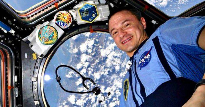 """Coronavirus, l'omaggio della Stazione spaziale al personale sanitario. L'astronauta medico: """"Sono ammirato. Grazie"""""""