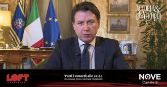 """Speciale Accordi&Disaccordi (Nove), Conte: """"Eurobond per emergenza economica Coronavirus? Il vento in Europa sta cambiando"""""""