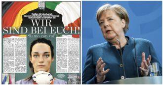 """Coronavirus, """"ci aiutaste a ripartire, siamo con voi"""": la solidarietà della Bild agli italiani dopo la lettera di sindaci e governatori ai tedeschi"""