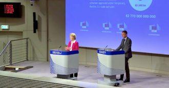 """Coronavirus, Von der Leyen annuncia il fondo anti-disoccupazione: """"Necessario salvaguardare i lavoratori"""""""
