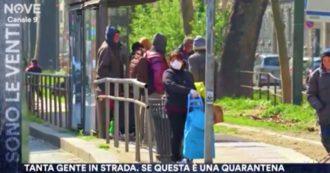 Sono le Venti (Nove) mostra strade e mercati affollati da Nord a Sud d'Italia: le immagini