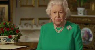 """Coronavirus, il messaggio della Regina Elisabetta in tv: """"Chi verrà dopo di noi dovrà dire che siamo stati forti come ogni altra volta"""""""