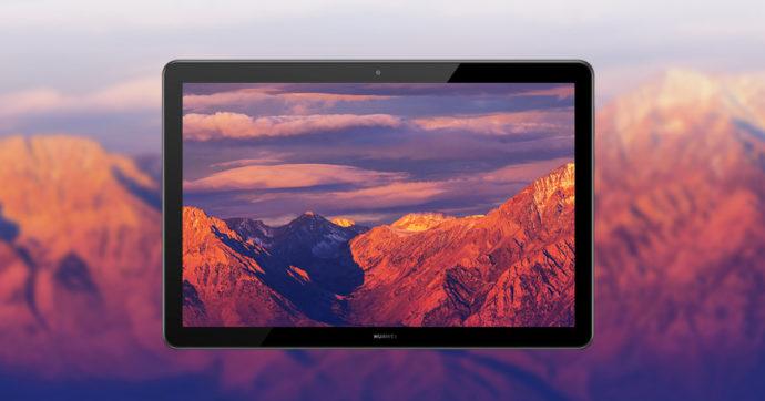 Huawei T5 Mediapad, tablet con display da 10.1 pollici in offerta su Amazon con sconto del 25%