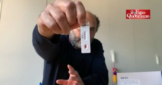 """Coronavirus, Marco Lillo: """"Ho comprato online il test sierologico e ho scoperto, da solo, che ho avuto il Covid"""". Ecco come funziona – VIDEO"""