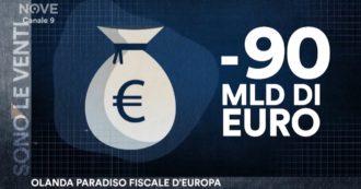 Sono le Venti (Nove), l'Olanda si oppone agli aiuti ai Paesi Ue ma è coinvolta nell'elusione fiscale internazionale: ecco quanto ci costa