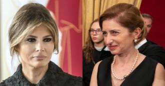 """Coronavirus, Melania Trump telefona alla figlia del presidente Sergio Mattarella: """"Gli Usa con voi"""""""