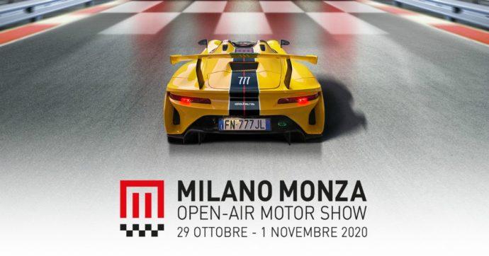 Coronavirus, rimandato a fine ottobre il Milano Monza Open-Air Motor Show