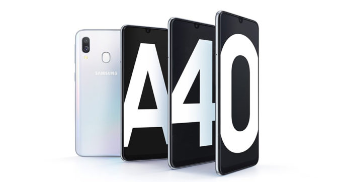 Samsung Galaxy A40, smartphone di fascia media in offerta su Amazon con sconto del 30%