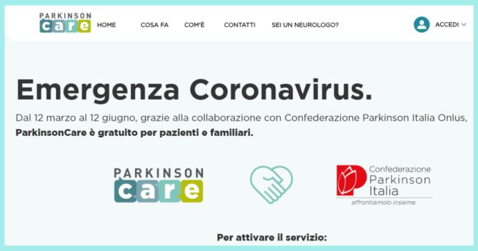 Coronavirus, nella Giornata mondiale del Parkinson il nuovo servizio di teleassistenza per i pazienti in quarantena