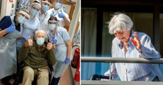 Coronavirus, in Olanda e Regno Unito due guariti da record di 107 e 101 anni
