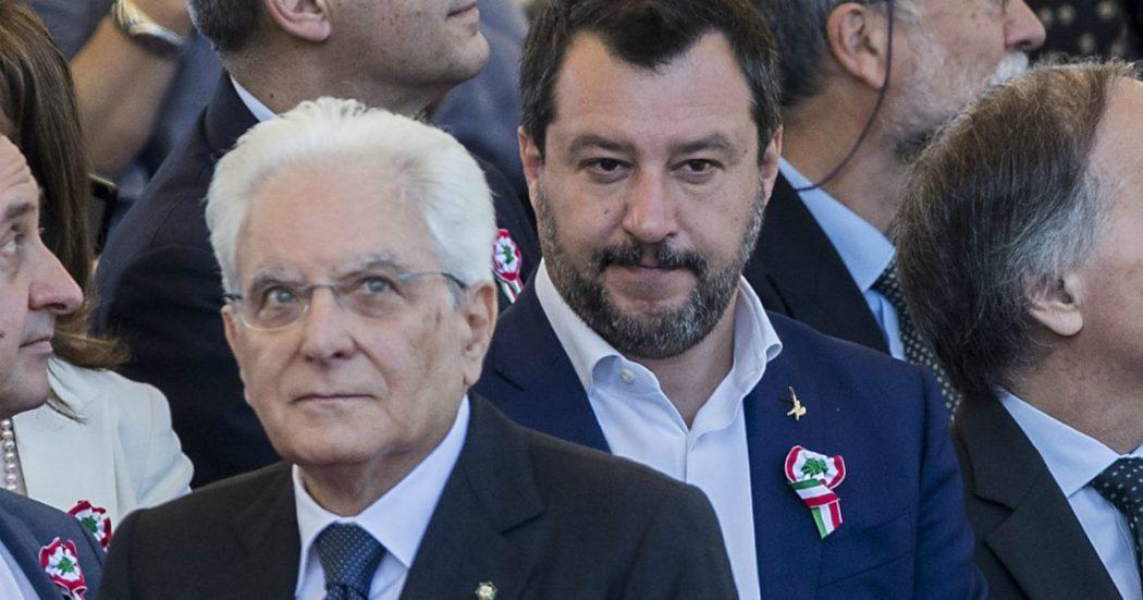"""Salvini scrive a Mattarella usando gli attacchi di Palamara per prendersela con tutti i pm: """"Contro di me un'offensiva, mi venga garantito un processo giusto"""""""