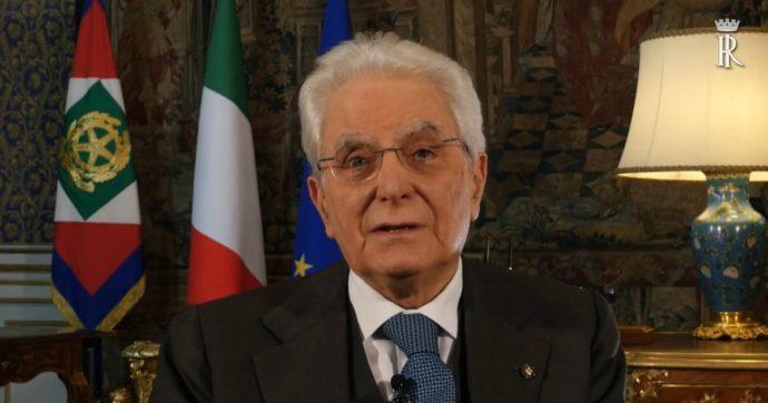 """Coronavirus, Mattarella: """"Brescia risponde con coraggio. Oggi come 46 anni fa, dopo la strage di piazza della Loggia dei neofascisti"""""""
