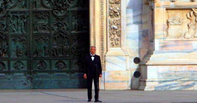 Andrea Bocelli e il covid-19: tutta la storia