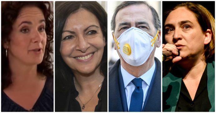 """Coronavirus, Sala e le sindache di Barcellona, Parigi e Amsterdam: """"Per uscire dalla crisi l'Ue segua principi di solidarietà e cooperazione"""""""