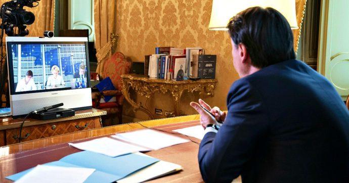 """Faccia a faccia (virtuale) Conte-Von der Leyen: """"Il Recovery Fund parta il primo gennaio, i nostri cittadini non possono aspettare"""""""