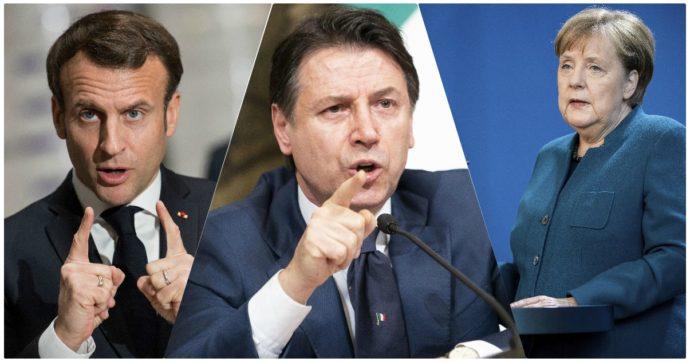 Coronavirus, la crisi rafforza i leader europei: Conte al 71% (+27%), Angela Merkel al 79%. Risale anche Macron, dopo mesi di difficoltà