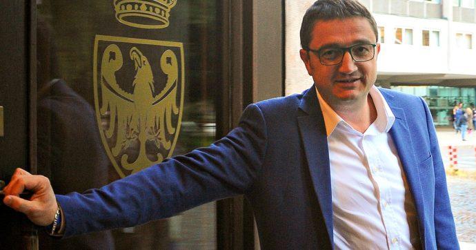 Il presidente della Provincia autonoma di Trento Fugatti positivo al coronavirus: è asintomatico. Contagiati anche due assessori