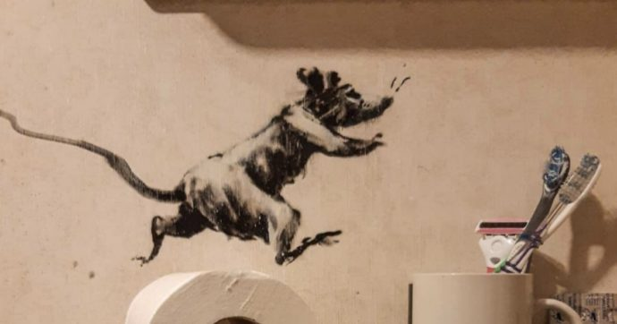 Banksy, il nuovo murales è spiazzante. Ed ecco perché tutti vorremmo dei topi come i suoi in casa
