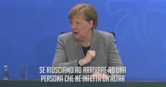 """Coronavirus, l'andamento dei contagi in Germania e la matematica di Angela Merkel: """"Ecco le nostre previsioni"""""""