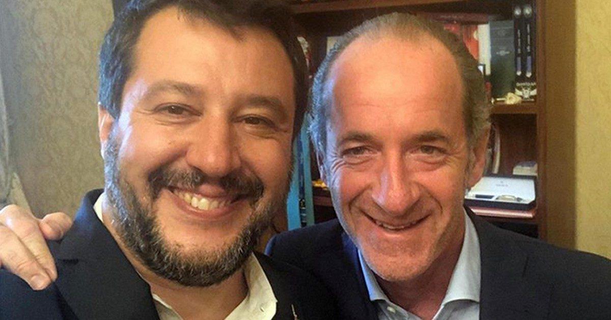 """Salvini: """"Zaia premier? È uno dei migliori, ma è una risorsa per il Paese in futuro"""""""
