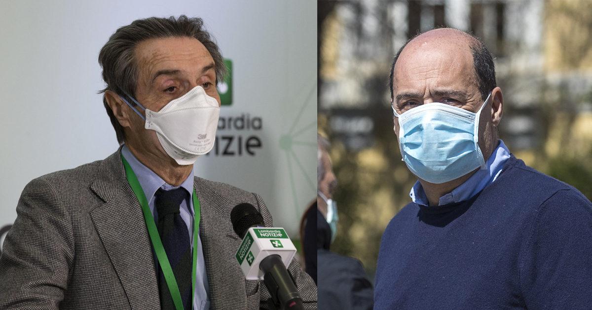 Scontro Lombardia-Lazio sul virus nelle Rsa