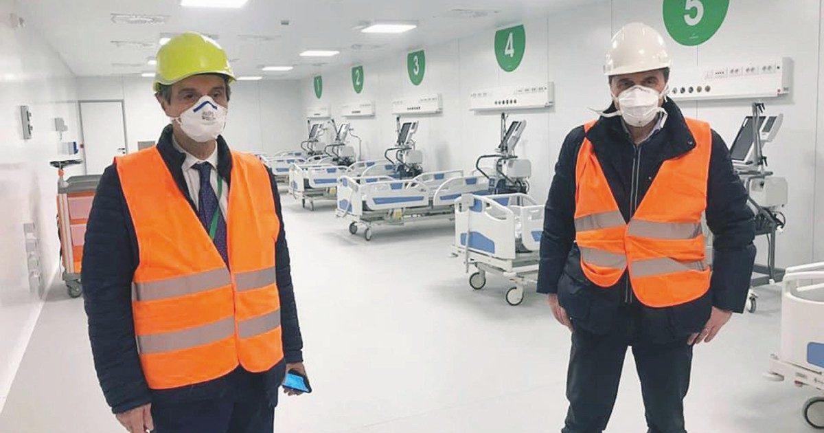"""""""Forti pressioni sui medici per portare malati in Fiera"""""""