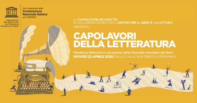 """Giornata del libro, maratona streaming con attori e scrittori. Augias: """"Chiusi in casa si legge di più? No, italiani lettori deboli. Si vede dai politici"""""""