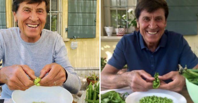 La verità su Gianni Morandi e i piselli dell'orto