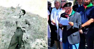 """25 aprile, il comandante Millo e la battaglia di libertà nelle Marche: """"Quarantena a 96 anni? Mi ha permesso di riordinare l'archivio da lasciarvi"""""""