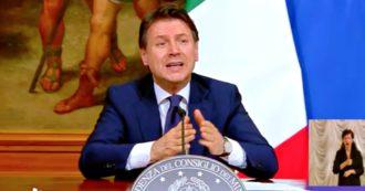 """Coronavirus, Conte: """"Se ami l'Italia mantieni le distanze, la curva del contagio può risalire"""""""