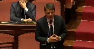 """Coronavirus, Renzi in Senato tira in ballo i morti di Bergamo e Brescia: """"Se potessero parlare, ci direbbero di ripartire"""""""