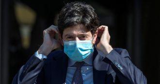 """Coronavirus, Speranza: """"Ripartiamo, ma con attenzione: basta poco per tornare indietro"""""""