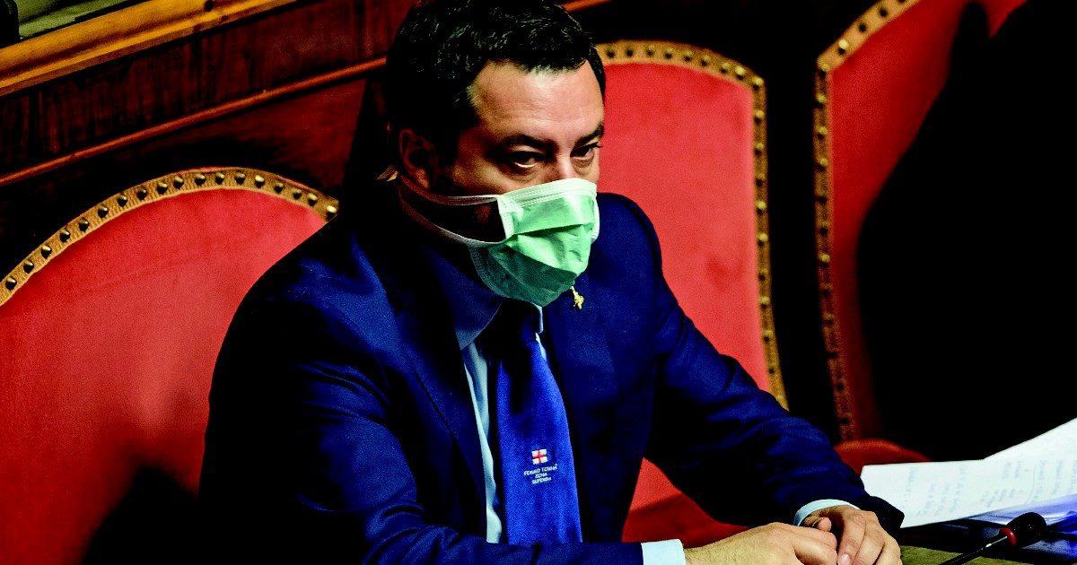 Salvini ha scoperto il Senato: di notte