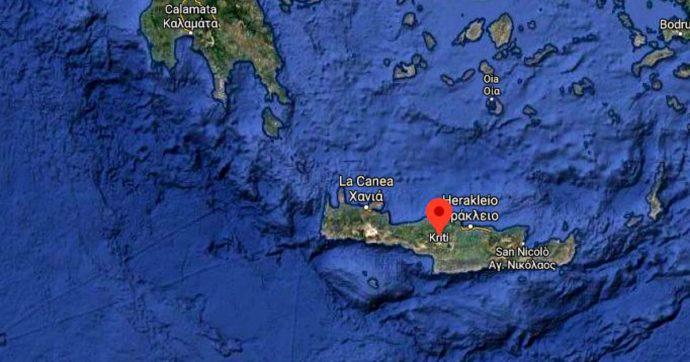 Terremoto Creta, sisma magnitudo 6.7. Registrato anche dai sismografi italiani