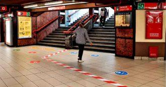Milano, in metropolitana senza mascherina: maxi multa da 400 euro per 13 persone. Tra i dipendenti Atm il 7.7% positivo al test