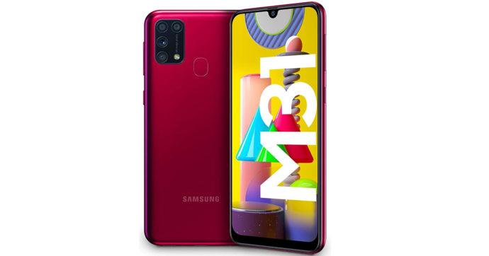 Samsung Galaxy M31 arriva in Italia: smartphone con 6 GB di RAM e batteria da 6000 mAh a meno di 300 euro