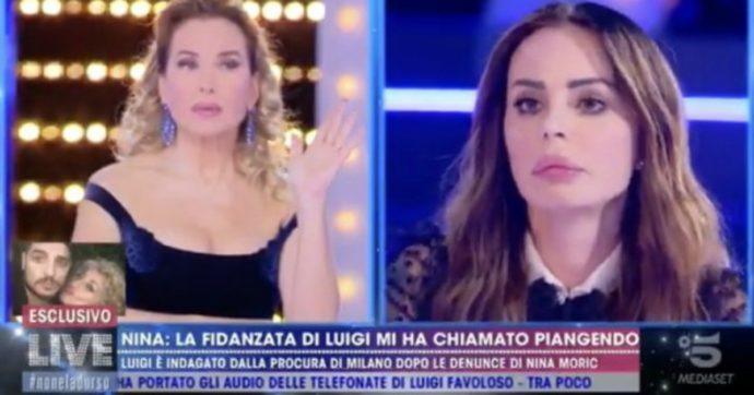 """Live non è la D'Urso, Nina Moric: """"Elena Morali mi ha detto di essere ricattata con video porno da Luigi Mario Favoloso"""""""