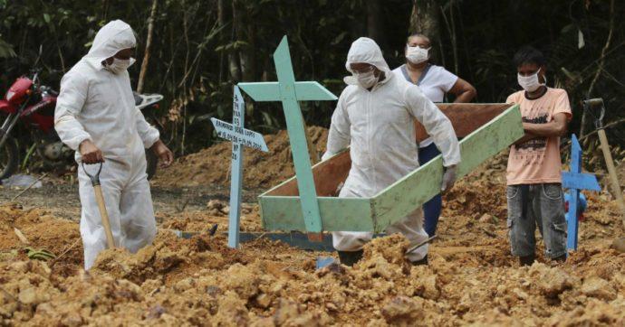 Coronavirus – Brasile, nello Stato di Amazonas 94,7% di morti sospette in più: ospedali senza posti letto