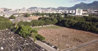 Coronavirus, a Rio del Jainero realizzato un grande cimitero per le migliaia di vittime. Il Brasile è il Paese più colpito dell'America Latina