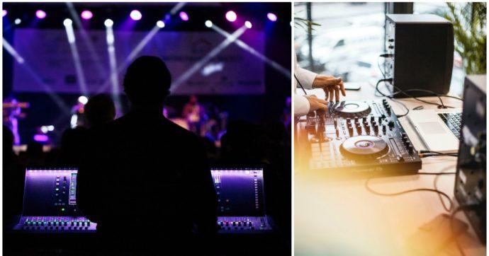 Coronavirus, gli invisibili della musica: tecnici dello spettacolo, fonici, producer, dj. Il grido di dolore dei 200mila lavoratori intermittenti senza tutele – LE STORIE