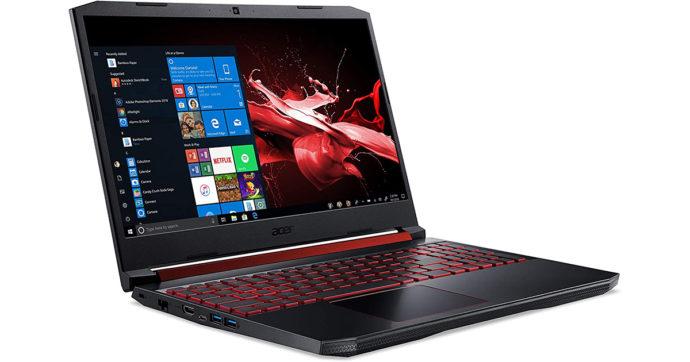 Acer Nitro 5, gaming notebook da 15,6 pollici perfetto anche per la produttività, su Amazon con 300 euro di sconto
