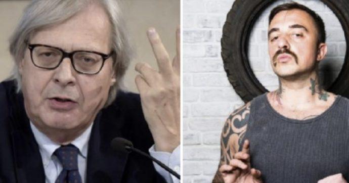 """Vittorio Sgarbi e chef Rubio, furiosa lite: """"Hai detto una stron***, chiappette glabre"""", """"Vai a lavarti le scodelle e posa il vino"""""""