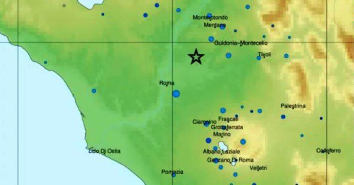 Terremoto a Roma, una scossa magnitudo 3.3 sveglia la Capitale all'alba: nessun danno