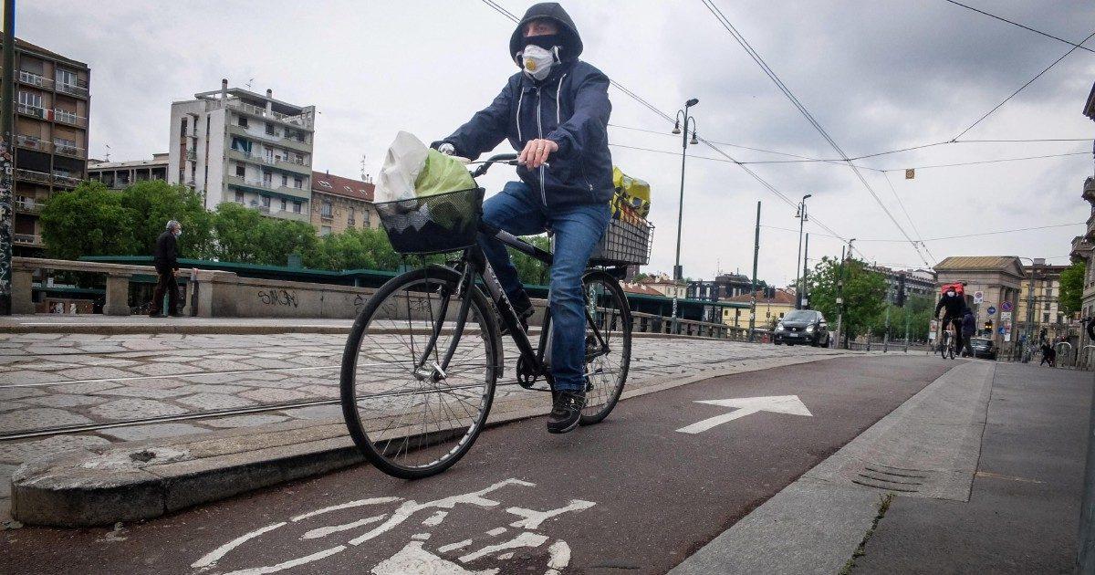 Fase due: l'Italia che pedala per evitare Covid e traffico