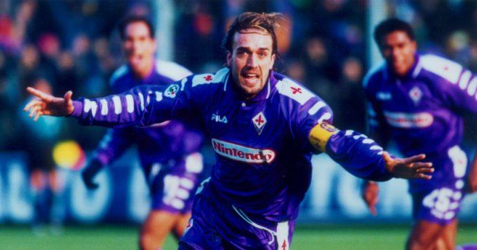 Gabriel Batistuta, 20 anni fa l'ultimo gol (tra le lacrime) in maglia viola. Il Re Leone diviso tra l'amore per Firenze e la voglia di vincere