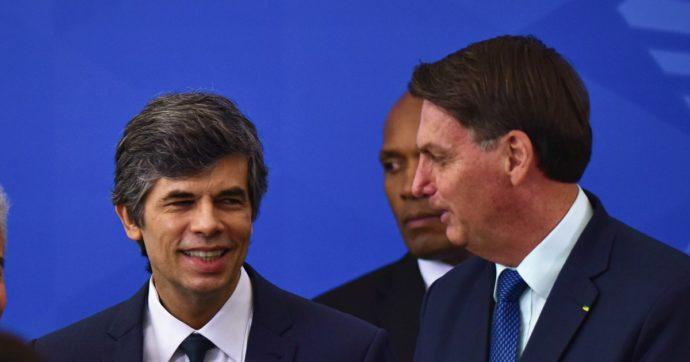 """Coronavirus, Brasile: si dimette il nuovo ministro della Salute per """"incompatibilità"""" con Bolsonaro. Era in carica da meno di un mese"""