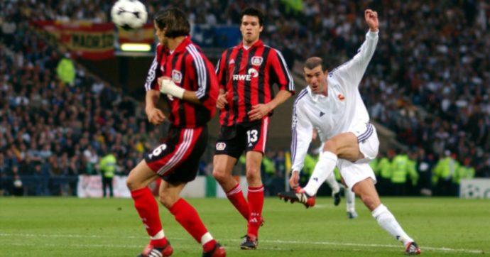 Zizou Zidane, il gol più bella della storia della Champions e il triplete al contrario del Bayer Leverkusen