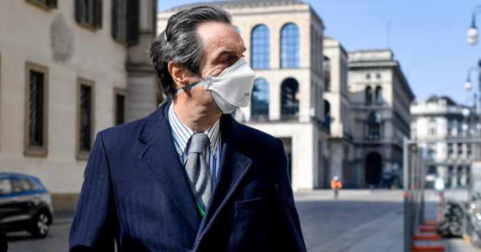 """Test sierologici, in Lombardia li fa il privato. Fontana: """"Li sconsiglio"""". E sui rimborsi dice: """"Autorizzati solo se poi il tampone è positivo"""""""