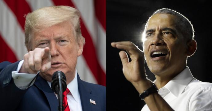 """Coronavirus –  Obama contro Trump: """"Non sa quello che fa"""". E il presidente attacca: """"C'è gente che dovrebbe andare in galera"""""""