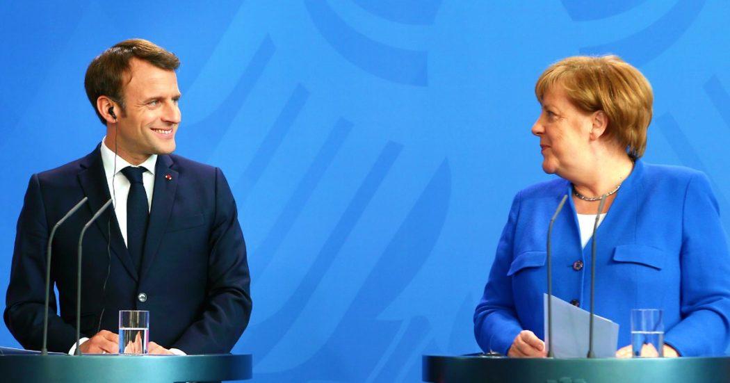 """Ue, Francia e Germania propongono un fondo per la ripresa da 500 miliardi. """"Per finanziarlo la Commissione potrà emettere titoli"""". Chigi: """"Buona base di partenza"""". Lagarde: """"Proposte mirate e benvenute"""""""